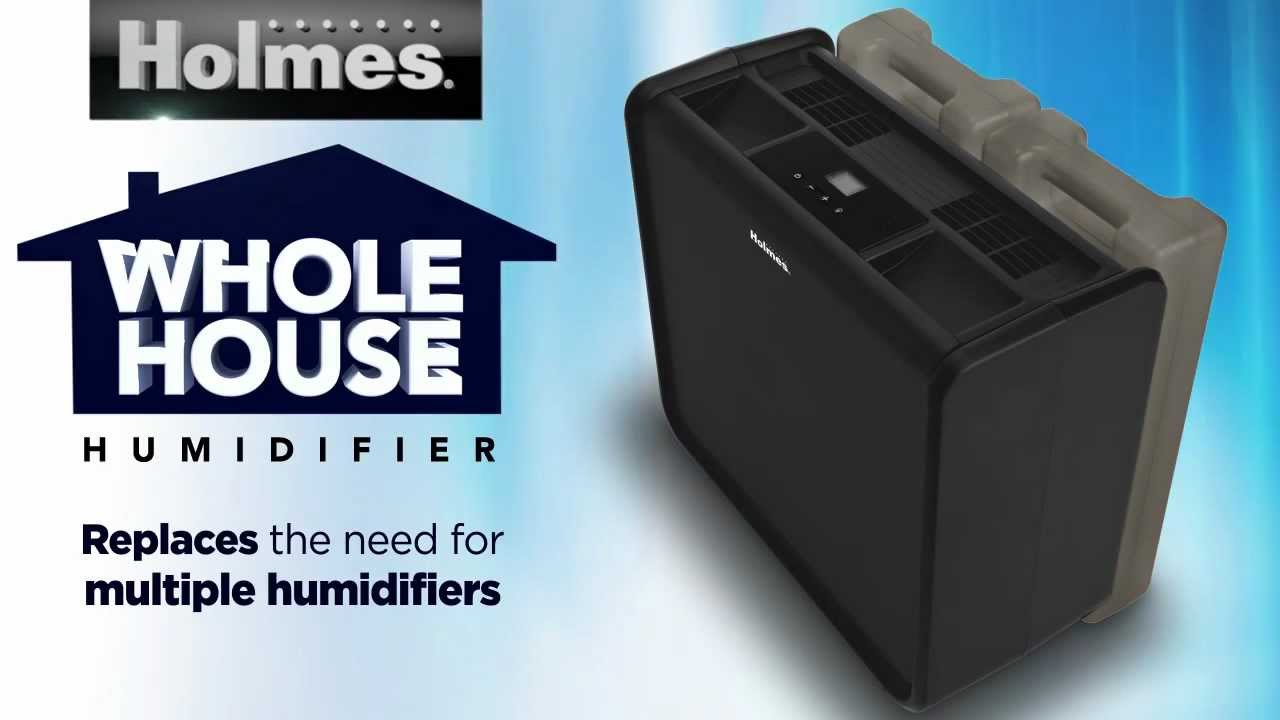 Great Holmes® Whole House Humidifier   YouTube