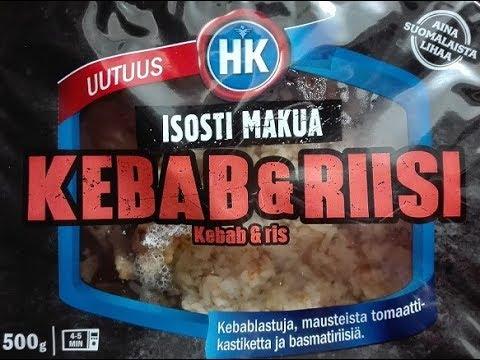 TESTI: Kebab & Riisi, HKScan Oyj