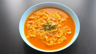 Tomato Soup With Cornflakes | Tomato Soup | Tomato Soup With a Twist | Crafts And Kitchen