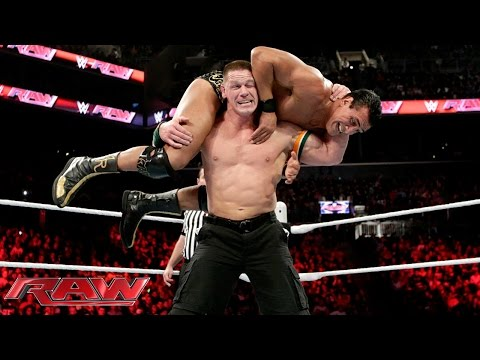 John Cena vs. Alberto Del Rio - United States Championship Match: Raw, December 28, 2015