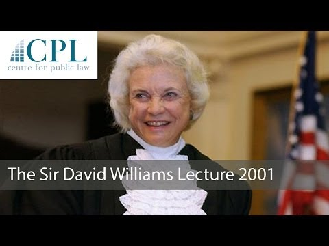 'Federalism and Devolution at the 'Real' Turn of the Millennium': Sandra Day O'Connor