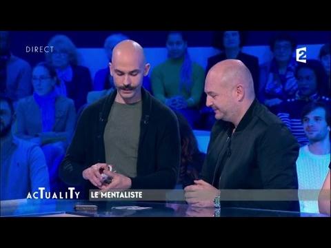 Viktor Vincent le mentaliste : lincroyable tour de cartes #AcTualiTy