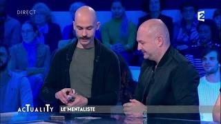 Viktor Vincent le mentaliste : l'incroyable tour de cartes #AcTualiTy