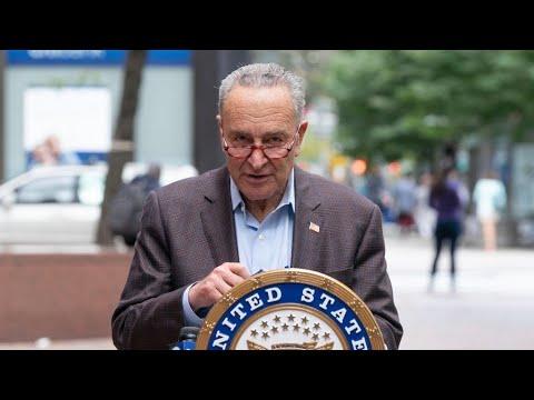 LIVE: Senator Schumer and Senate Judiciary Committee Democrats hold a press briefing