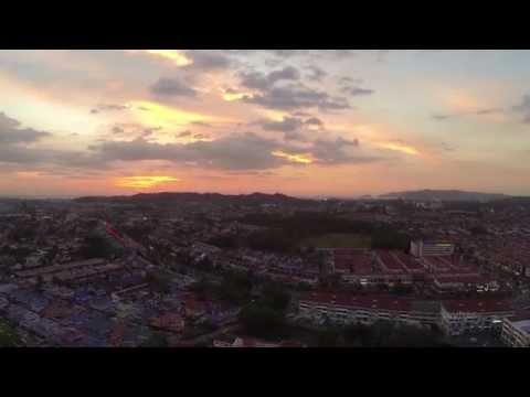 Kota Kinabalu First Aerial 2014