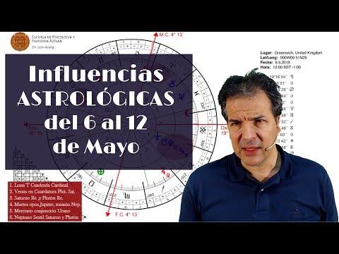 Influencias Astrol�gicas del 6 al 12 de Mayo Signo por Signo