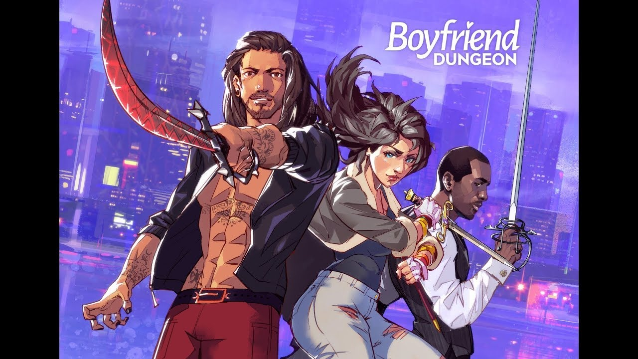 New trailer for Boyfriend Dungeon reveals all six dateable weapons