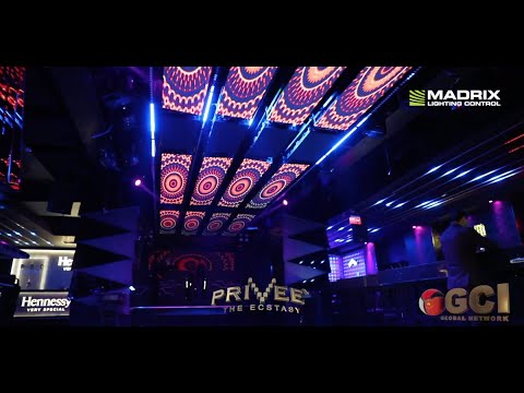 MADRIX @ PRIVEE extasy in New Delhi, India