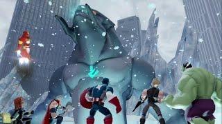 Disney Infinity 2.0 - Marvel Super Heroes - The Avengers Playset Walkthrough Part 12 - Boss Fight
