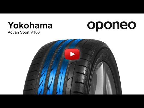 Tyre Yokohama ADVAN Sport V103 ● Summer Tyres ● Oponeo™