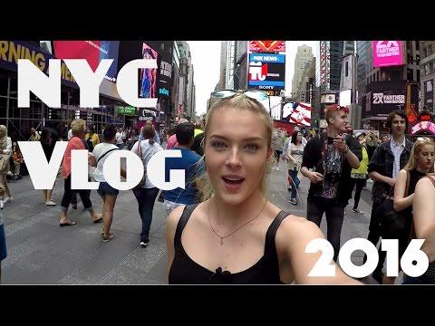 NYC Vlog June 2016 Trip