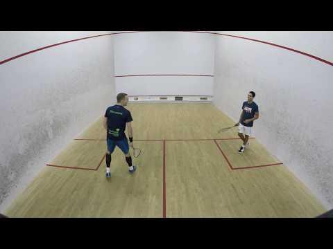 Nick Matthew vs. Tarek Momen - Exhibition - San Diego Squash