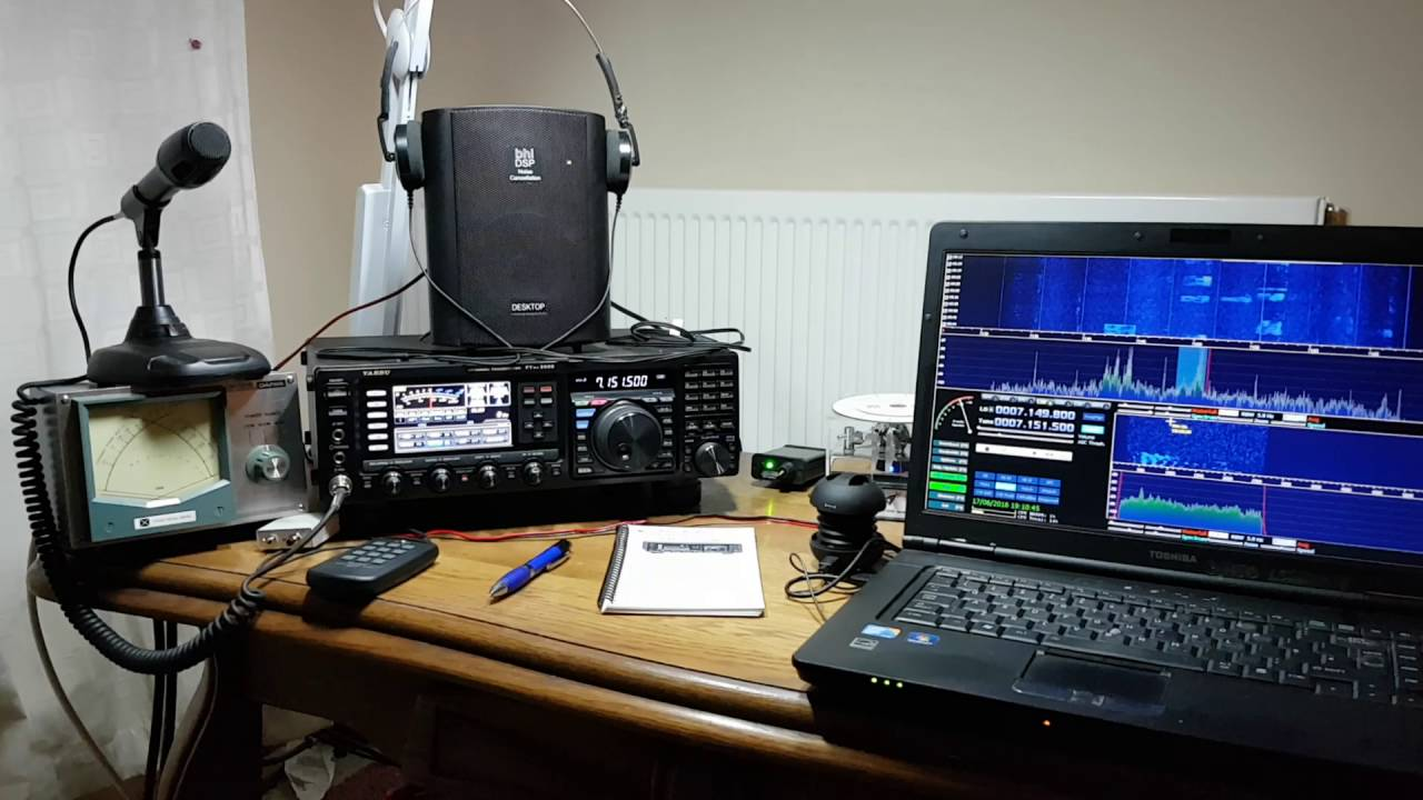 Panadapter For Yaesu FT DX 3000 Using A Cross Country SDR Radio