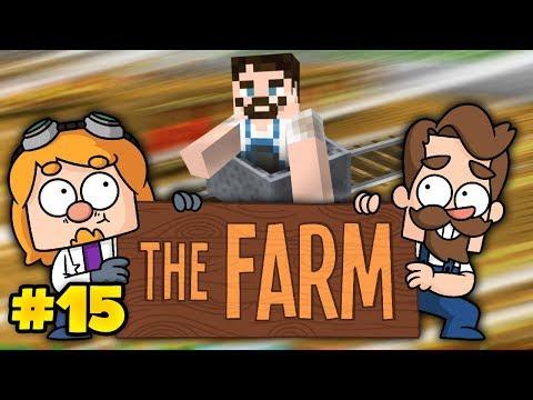 Minecraft The Farm #15  - SuperMinecart Sweep