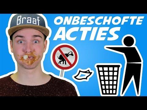 10 ONBESCHOFTE ACTIES!