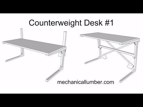 Four Bar Counterweight Mechanism For Trap Door Doovi