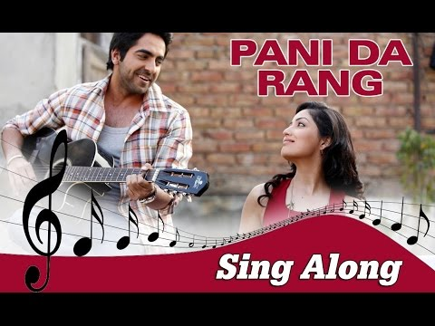 Pani Da Rang  Full Song With Lyrics  Vicky Donor  Ayushmann Khurrana & Yami Gautam