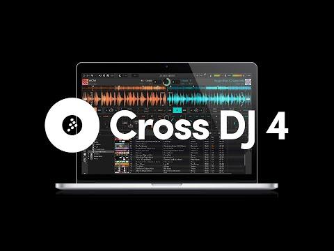 Cross DJ 4: New Interface, Soundcloud Streaming, Effect Engine - DJ