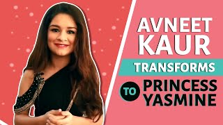 Avneet Kaur's Transformation To Princess Yasmine | Aladdin | Sab TV