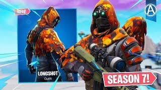 "Pro Console Player / / NEUE ""LONGSHOT"" SKIN Gameplay / / 1500+ Siege (Fortnite Battle Royale LIVE)"