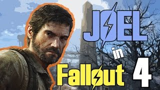 Joel from The Last Of Us Game in Fallout 4 | Character Creation Familliar Faces