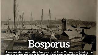 How to Say Bosporus in English How Does Bosporus Look What is Bosporus