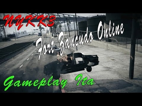 GTA 5 - Gameplay Ita HD - Tutti A Fort Zancudo Online