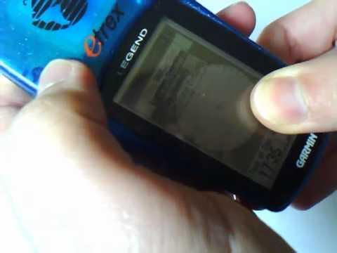 Garmin Etrex Legend GPS - Breakdown / Rebuild HowTo