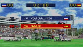 Virtua Striker 2 dreamcast ranking mode yugoslavia