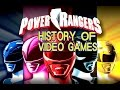 History of Power Rangers (1994-2017) - Video Game History