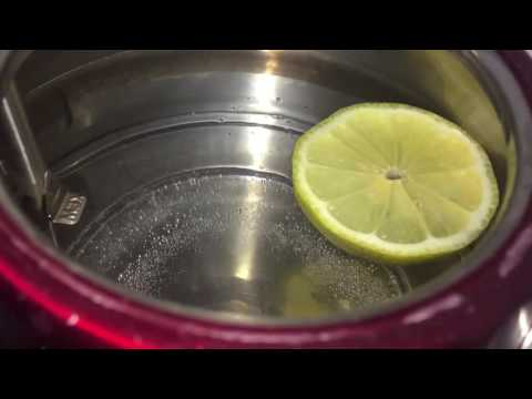 Home Hack: Cleaning stubborn kettle stains w water & lemon