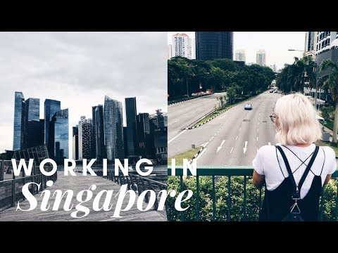 COME TO WORK WITH ME IN SINGAPORE!