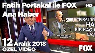 Asgari ücret ne olmalı? 12 Aralık 2018 Fatih Portakal ile FOX Ana Haber