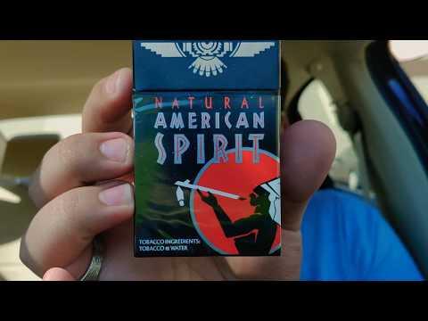 Natural American Spirit- Black (Perique)