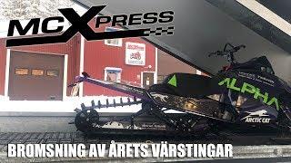 Snowrider Tv Ep. 36, Säsong 2 - Bromsning Av Årets Värstingar, Polaris Fabrik