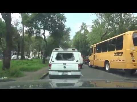 【Mexico Highway driving】Mexico city to Toluca city 15D