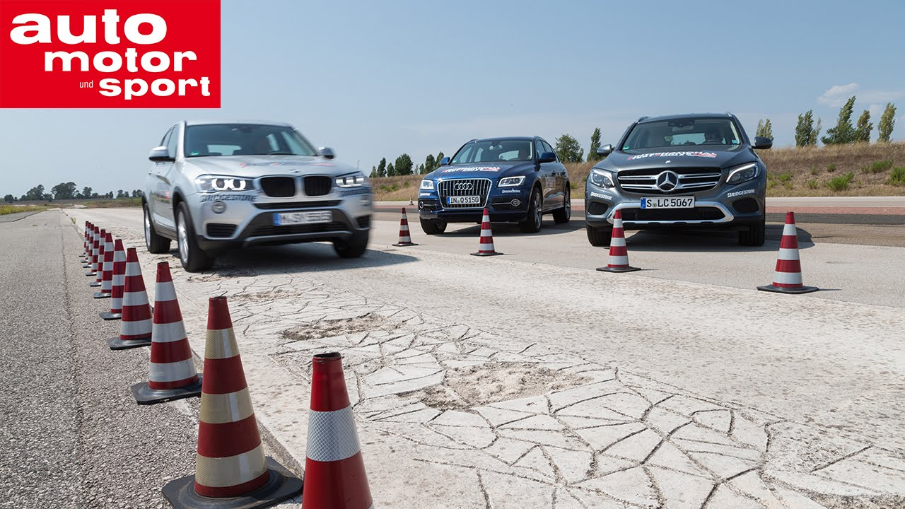 International Test Drive - Mercedes GLC vs. Audi Q5 und BMW X3