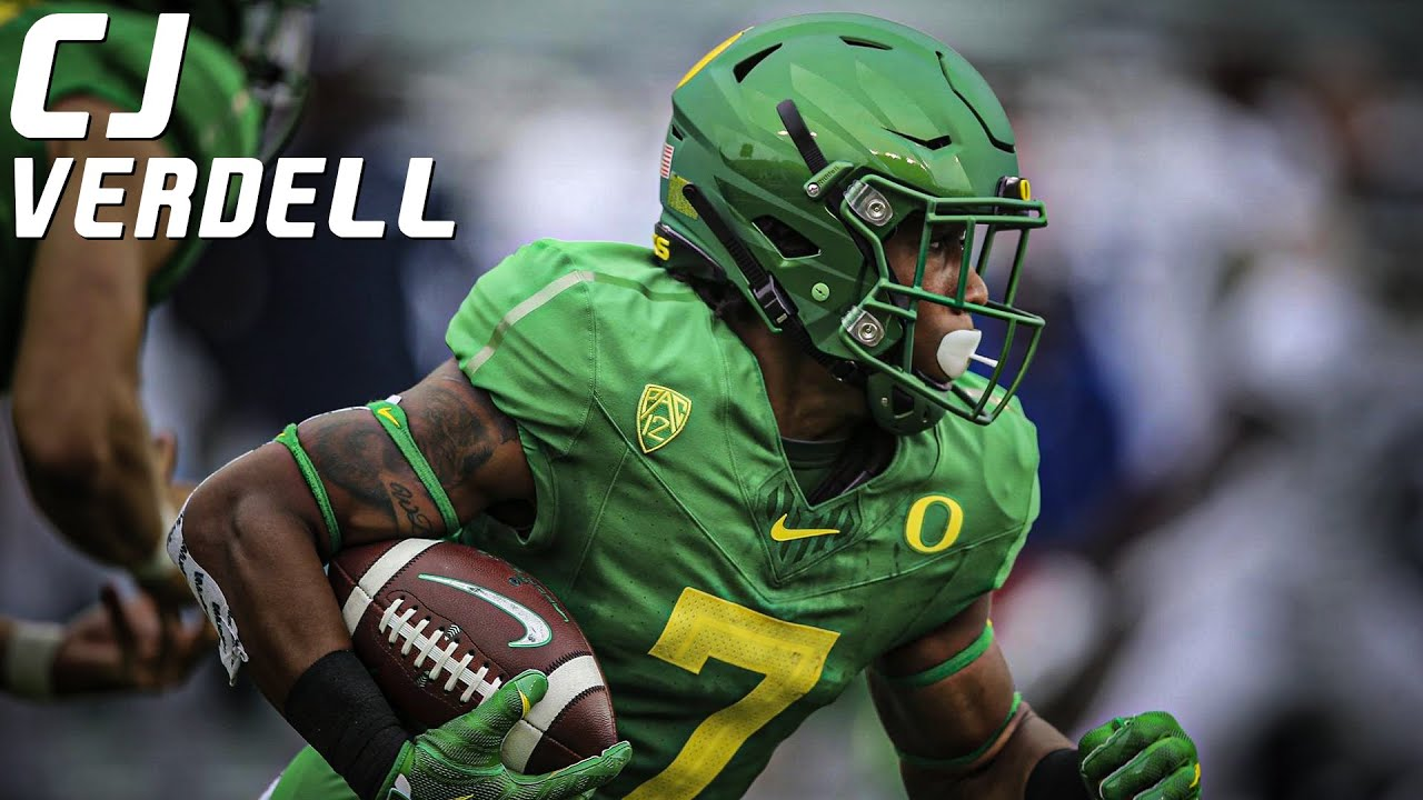 Best RB in the Pac-12   CJ Verdell Oregon Highlights ᴴᴰ