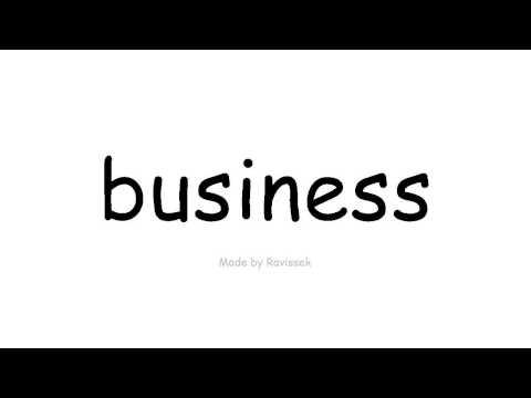 İngilis dili   business