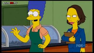 The Simpsons: Marge opens a Sandwichstore