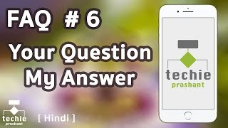 FAQ #6 - HINDI - iPhone Charger Support, WhatsApp Security Code, Reset Sim Pin, iPhone Factory Reset