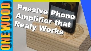 ★ X-carve Cnc Project | Make A Passive Amplifier For Your Iphone