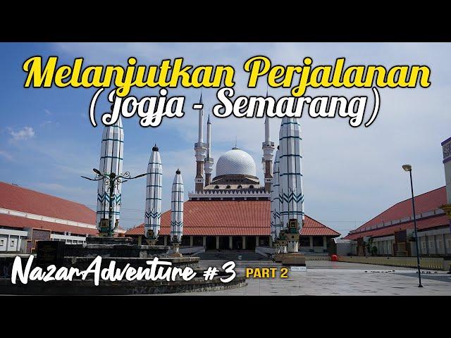 Naik Vespa dari Jogja ke Semarang