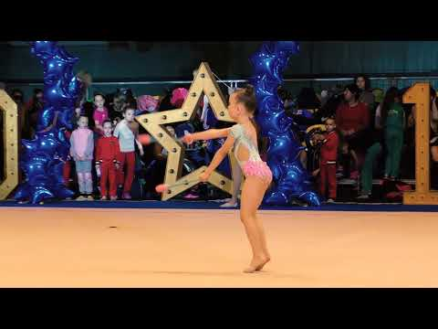Best moments of all gymnasts at NewDniproStars Christmas 2017