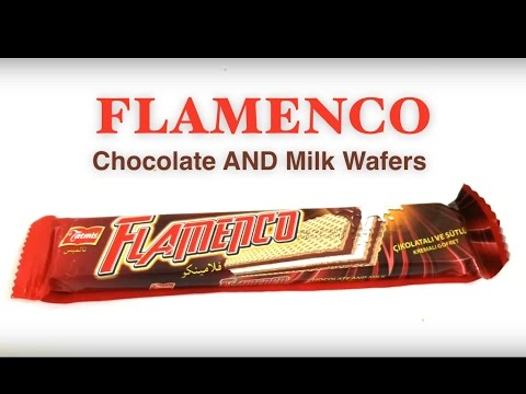 Flamenco Chocolate And Milk Wafers #snackopening #candy opening