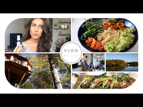 Vlog my days : beauté, haul, recettes healthy, week-end inso
