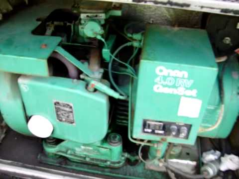6 5 Diesel Engine Wiring Diagram 1987 Onan Generator Runs Perfect Now Youtube