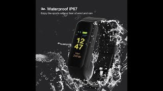 Swimming Fitness Tracker SZ  with Heart Rate Monitor, from DYTesa