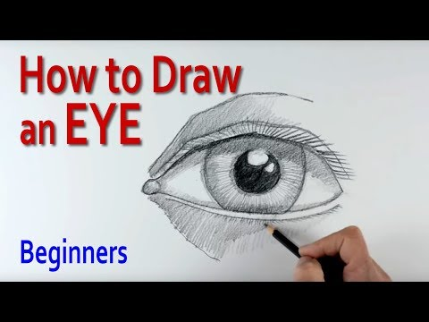 How to Draw a Human Eye (step by step) thumbnail