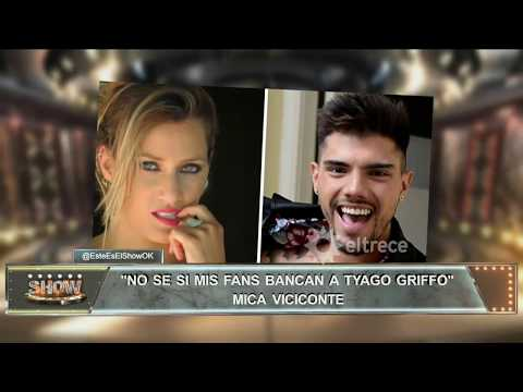 ¿Todo mal entre Mica Viciconte y Tyago Griffo?